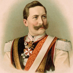 Kaiser Guillermo II, Almafuerte, Apóstrofe,