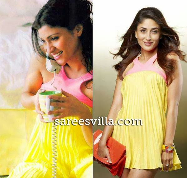 Konkana Sen and Kareena Kapoor in same dress
