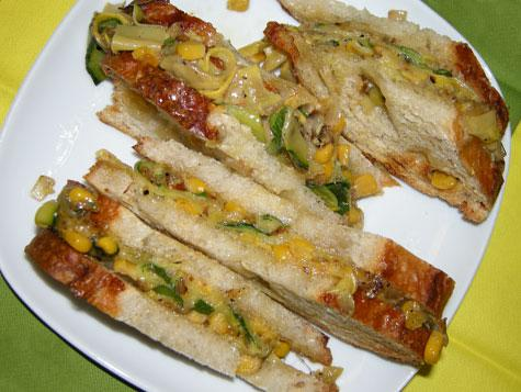 summer squash and fresh ricotta sandwiches food republic summer squash ...