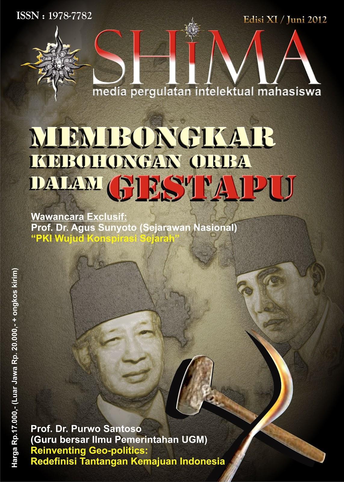 Editorial; Mempertegas Warisan Sejarah PKI yang Buram