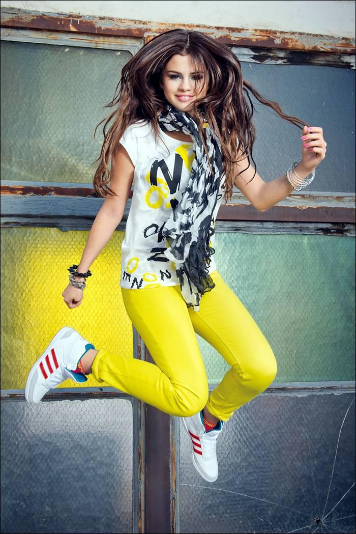 Selena Gomez — Adidas Neo Photoshoot