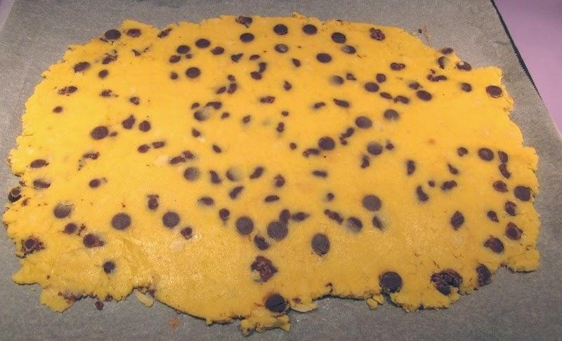 shortbread amande chocolat sans gluten