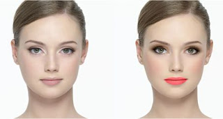 Perfect365 before after screen shot