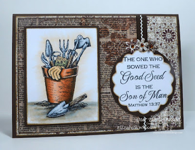 Our Daily Bread Designs, The Good Seed, Recipe Card and Tags Dies, Matting Circles, Flower Box Fillers, Vintage Ephemera, Designed by Elizabeth Whisson