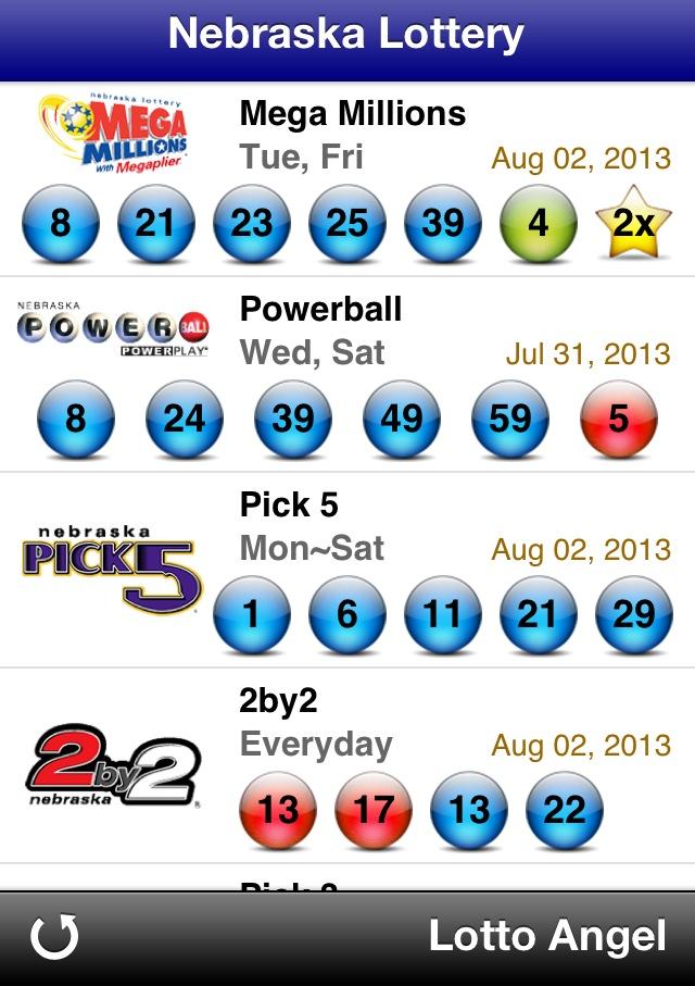 lottery numbers nebraska