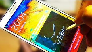 Cara mengaktifkan fitur signature lock Samsung