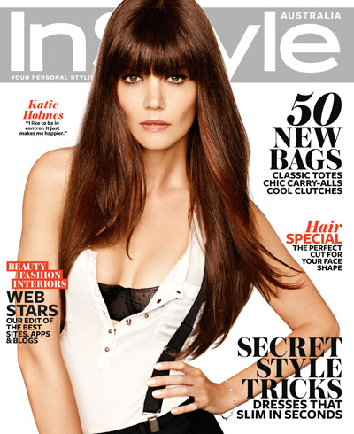 Katie Holmes for InStyle Australia : May 2013 |MagSpider