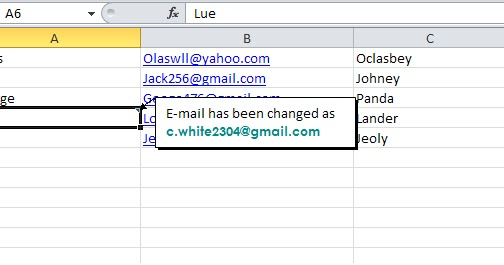 how to add a comment in excel