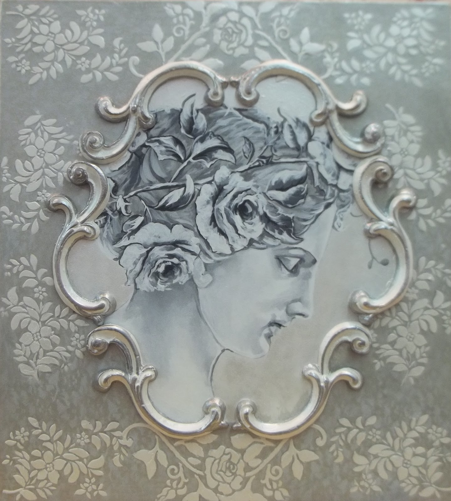 French rococo art