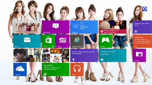 Girls' Generation Theme For Windows 7 And 8 Season 2