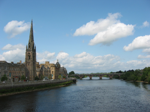 St. Matthew's Church and Smeaton's Bridge