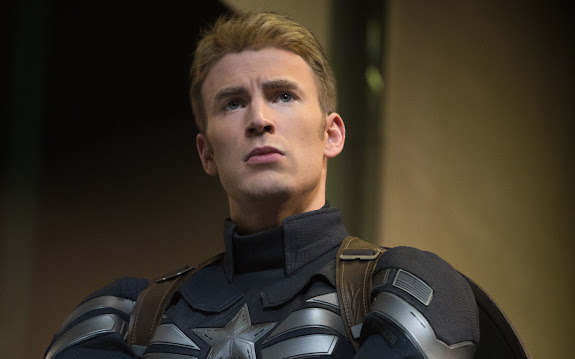 chris Evans as steve Rogers / captain america 2 the winter soldier