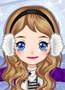 Снежный ангел - Онлайн игра для девочек
