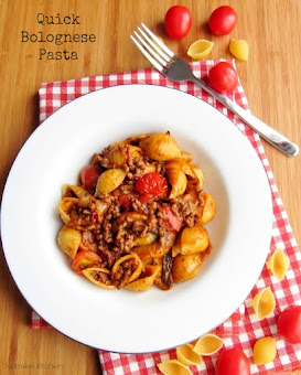 Quick Bolognese Pasta