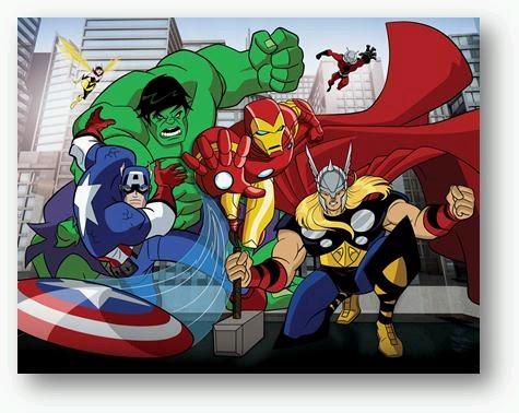 Potins enfantins octobre 2012 - The avengers dessin anime ...