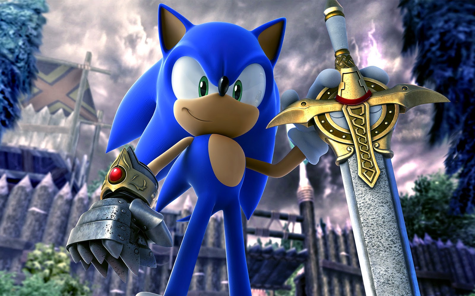 Sonic Wallpaper HD