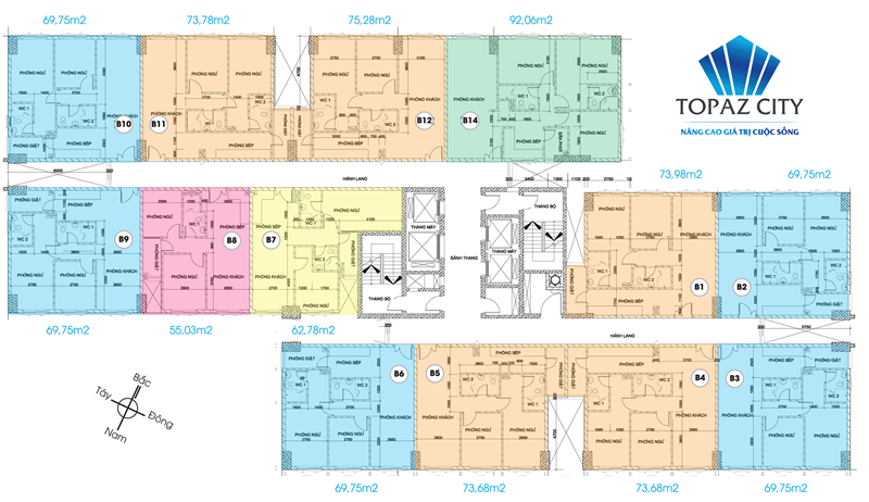 căn hộ Topaz Quận 8, can ho topaz city quan 8