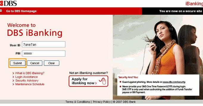 DBS Internet Banking Login Singapore - Dbs.com.sg iBanking