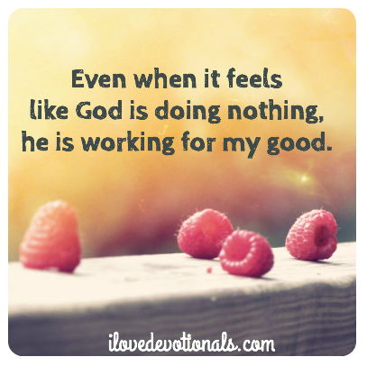 When it feels like God is doing nothing