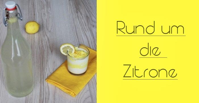 Rezept: Zitronencreme+Zitronenlimonade
