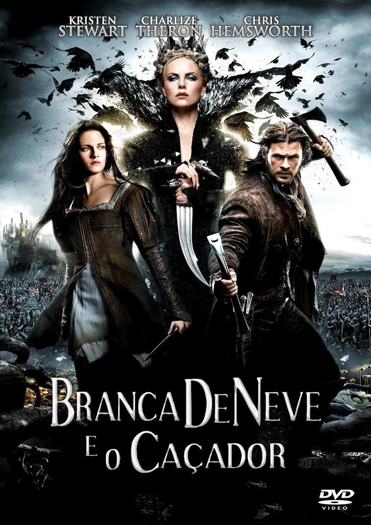 Filme Branca De Neve E O Caçador Dublado AVI BDRip