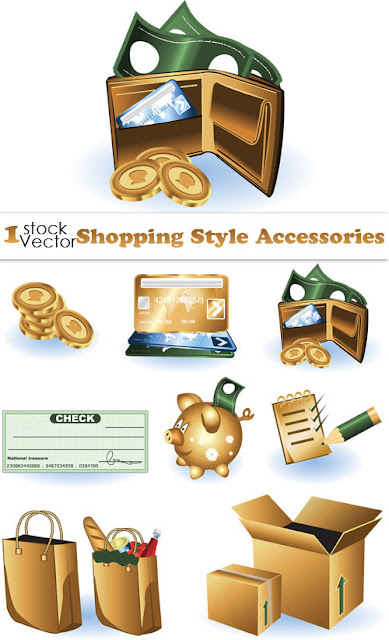 tags  shopping  vectors  monry