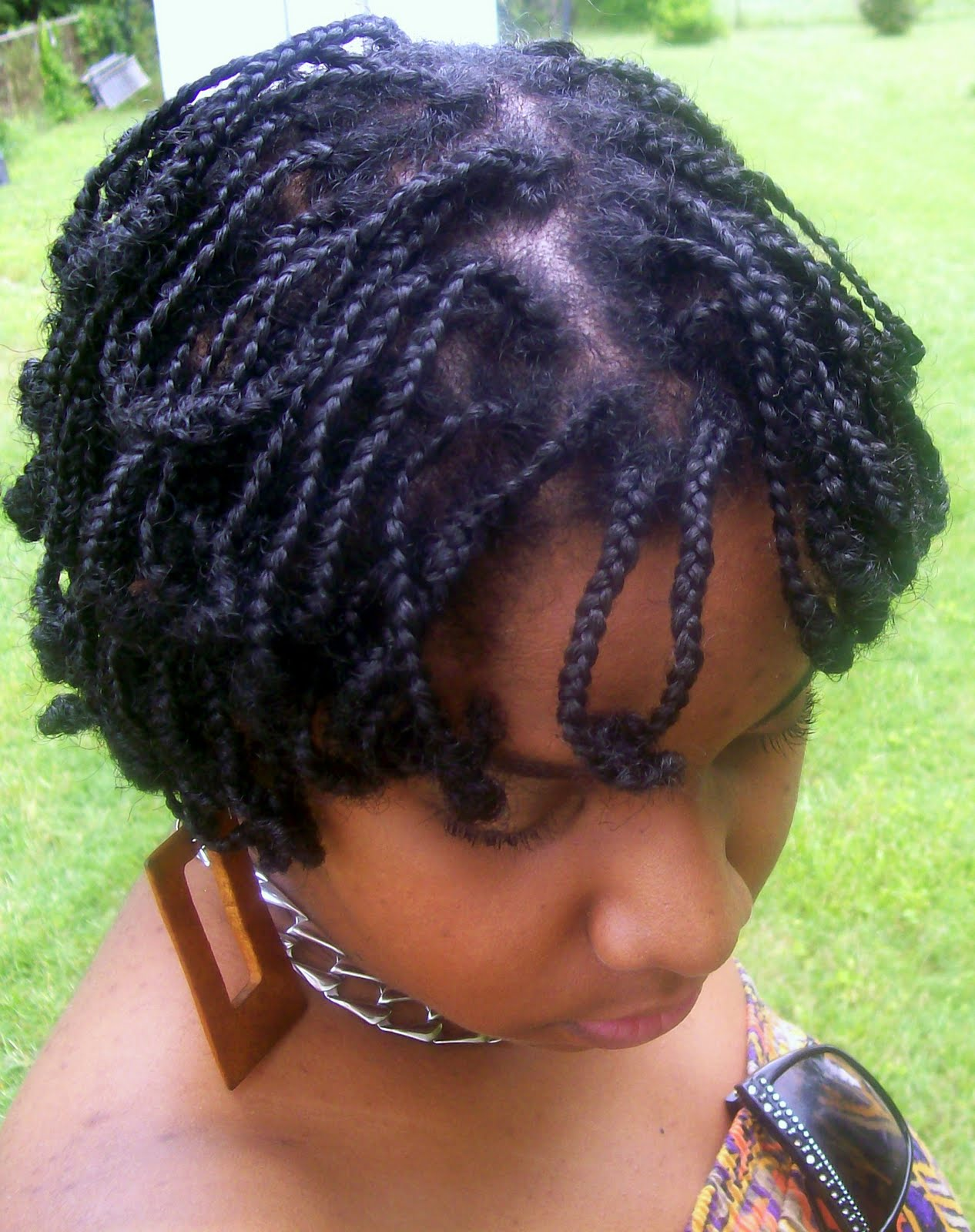 Box Braids With Curls At The End Worlds of curls curl activator