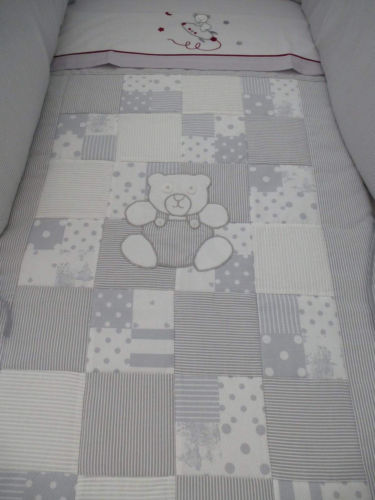Las labores de mi madre colcha de patchwork - Patrones para colchas de patchwork ...