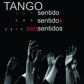 poster tango con sentido