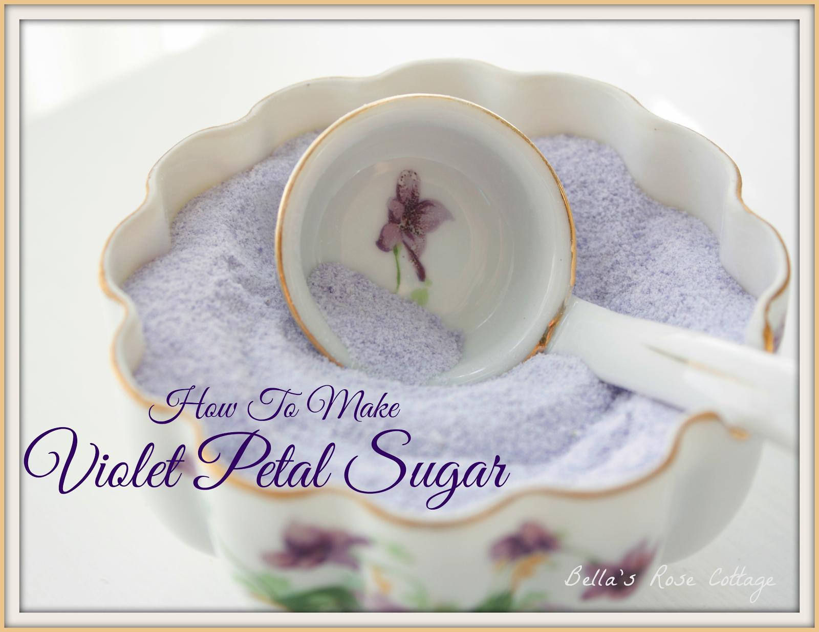 Violet Petal Sugar
