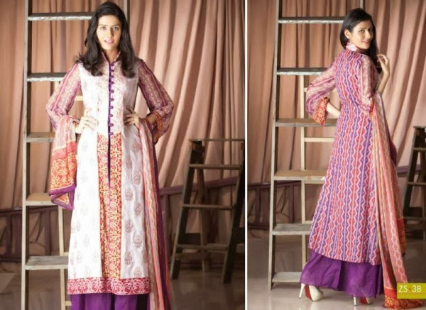 ZS Textiles New Stylish Winter Dresses Collection 2013-14 For Girls & Women Fashion