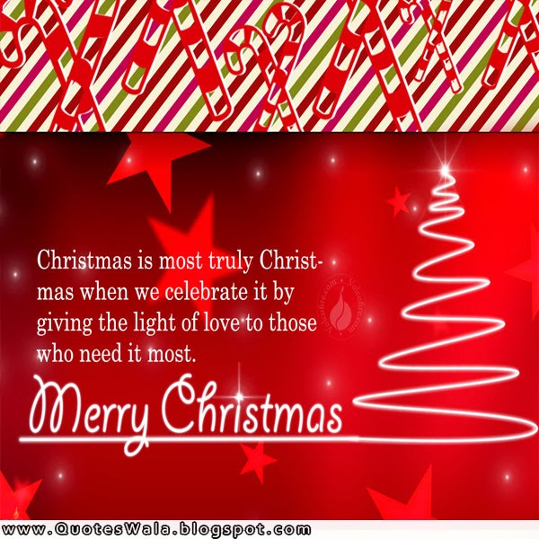Merry Christmas Quotes  Daily Quotes at QuotesWala