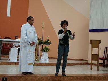 Pe. Ernesto  e Cleunice