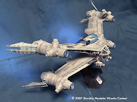 Madman's EarthForce Starfury from Babylon 5
