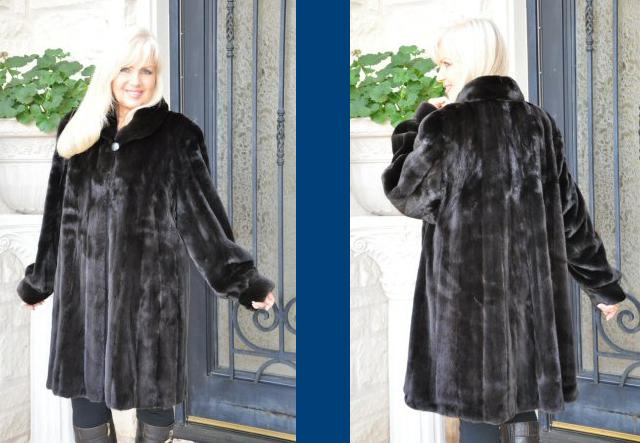 Plus Size Fur Coats: Big and Beautiful Ladies Know How to Get into ...