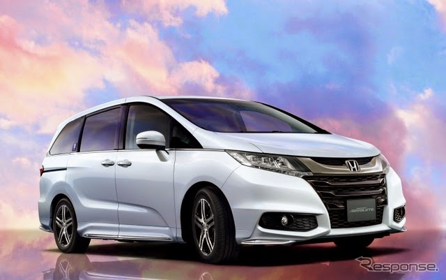 Honda Odyssey Absolute 20th Anniversary: