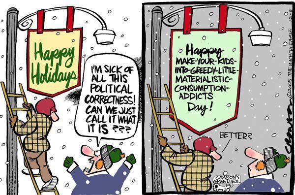 and yet what does the protest of the war on christmas center around were fighting for all these things that have nothing to do with the biblical - The War On Christmas
