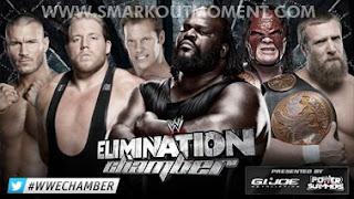 Watch WWE Elimination Chamber 2013 Match Online Free Orton Swagger Henry Jericho Kane Bryan