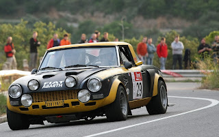 "Fiat 124 Coupé Abarth Rally ""Olio Fiat"""