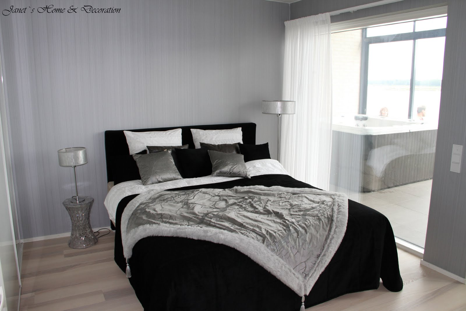Janet's Home & Decoration: BOSTADSMÄSSANS MASTER BEDROOMS