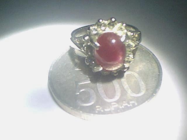 Cincin Ruby Madagaskar