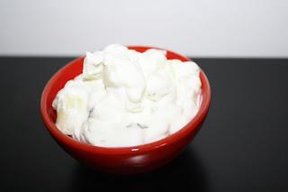 insalata yougurt cetrioli libanese