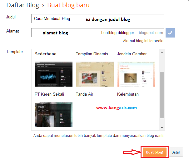 Daftar Blog