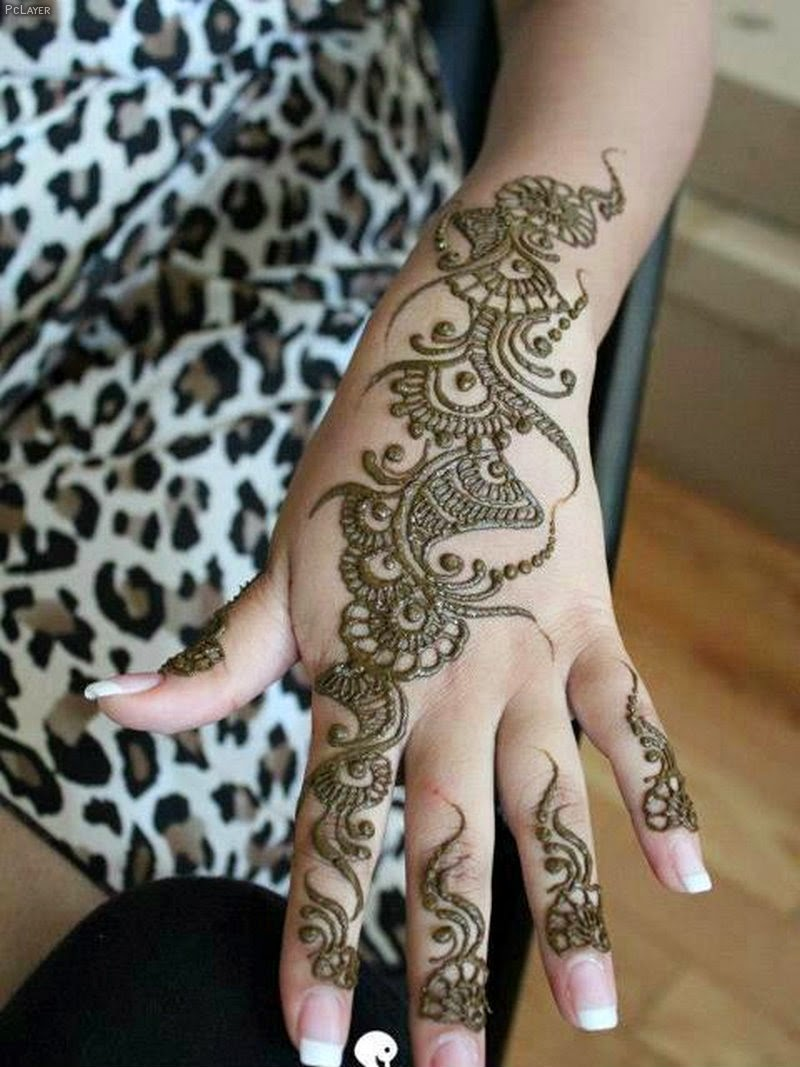 Mehndi Page Small childrens Mehndi Design