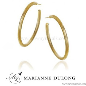 Crown Princess Mary Style Marianne Dulong Esme Earrings