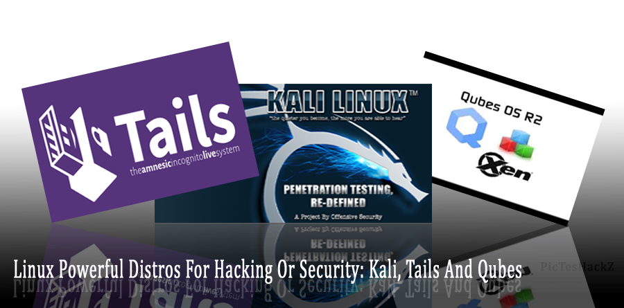 Linux Powerful Distros : Kali, Tails And Qubes - picateshackz.com