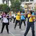 Olahraga Bersama Polwan Se-Kalimantan Selatan bersama