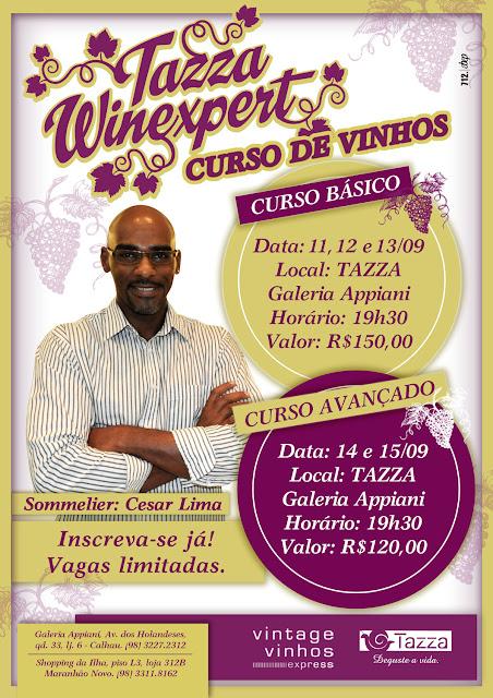 Tazza Winexpert – Curso com ares de happy hour
