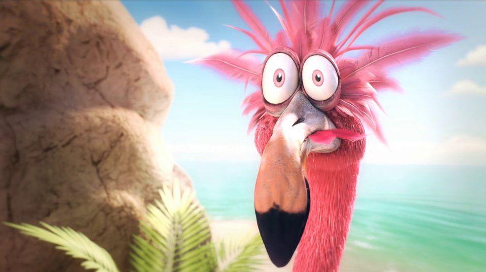 Pink Troubles - Ein Flamingo, seine Boombox und das Ding aus dem Weltall