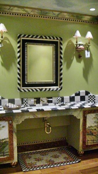 Sweet Nothings Mackenzie Childs Bathroom